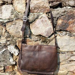 Stone Mountain Leather Purse, Hobo bag